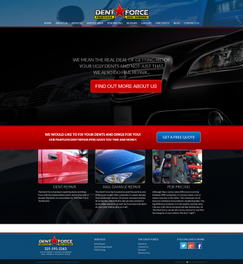 Homepage Dent Force