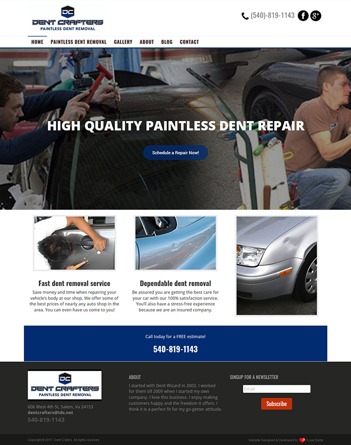 Dent Crafters