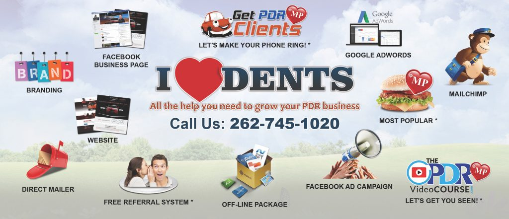 I Love Dents PDR Business Help